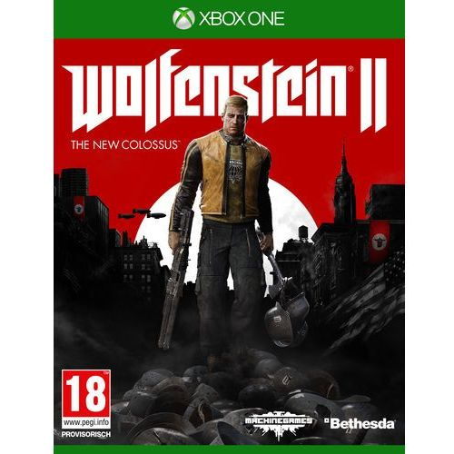 Gry Xbox One, Wolfenstein 2 The New Colossus (Xbox One)