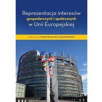 Biblioteka biznesu, Reprezentacja interesów gospodarczych i społecznych w Unii Europejskiej (opr. miękka)
