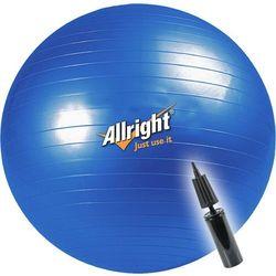 Piłka gimnastyczna Allright 85cm + pompka