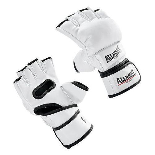 Rękawice do walki, RĘKAWICE MMA PRO PU r.S białe
