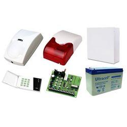 Zestaw alarmowy SATEL CA-4, Klawiatura LED, 2 czujniki ruchu PET, sygnalizator wewnętrzny