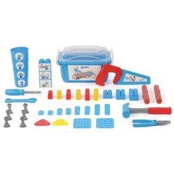 Polesie 48-częściowy zestaw narzędzi Smerfy, niebieski, 1450638 Darmowa wysyłka i zwroty