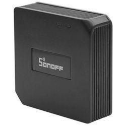 Inteligentny Przełącznik konwerter RF 433MHz na WiFi Sonoff RF Bridge czarny