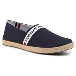 Espadryle TOMMY JEANS - Tape Summer Shoe EM0EM004190 Rwb 0KP