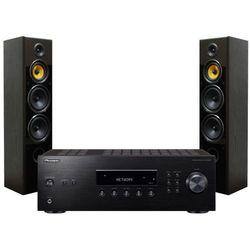 Zestaw stereo PIONEER SX-10AEB + TAGA TAV-606F Czarny