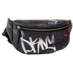 Saszetka nerka DKNY - Tilly Belt Bag Stree R93IN548 Blk Mlt/White KFI