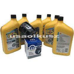 Olej Pennzoil 0W20 oraz oryginalny filtr Jeep Cherokee KL 2,4