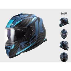 KASK MOTOCYKLOWY LS2 FF800 STORM RACER MATT BLUE - kolekcja 2021