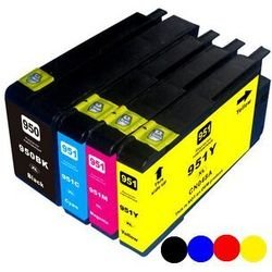 Zgodny multipack HP 950-XL, 951-XL (C2P43AE), black + color (czarny + kolor)
