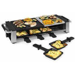 Klarstein Bistecca, grill raclette, metal/kamień, na 8 osób, lampka kontrolna LED, 1200 W