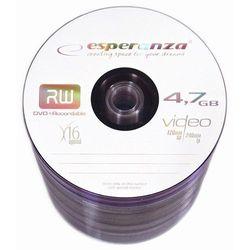 Esperanza DVD+R 4.7GB 16x Szpindel (100szt.) / DARMOWA DOSTAWA / DARMOWY ODBIÓR OSOBISTY!