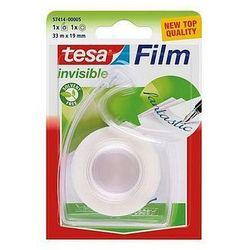 Taśma biurowa mleczna TESAfilm Invisible 33m x 19mm + dyspenser Easy Cut 57414-0005
