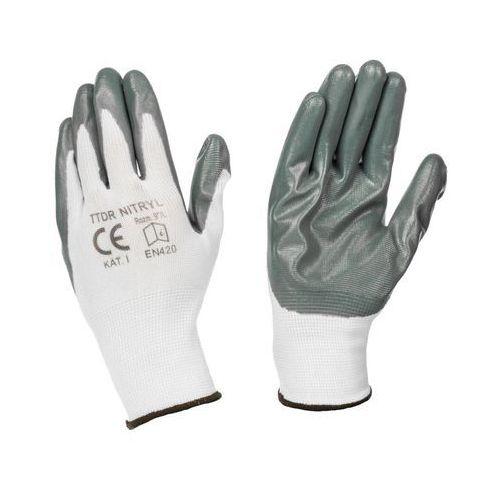 Rękawice ochronne, Rękawice robocze r. 9 TOP-TECH DIRECT NITRYL 2020-06-25T00:00/2020-07-15T23:59
