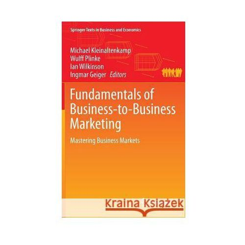 Biblioteka biznesu, Fundamentals of Business-to-Business Marketing