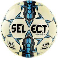 Piłka nożna, Piłka nożna Select Prestige II 5 biało - niebieska