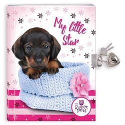 Pamiętnik z kłódką The Sweet Pets Pies