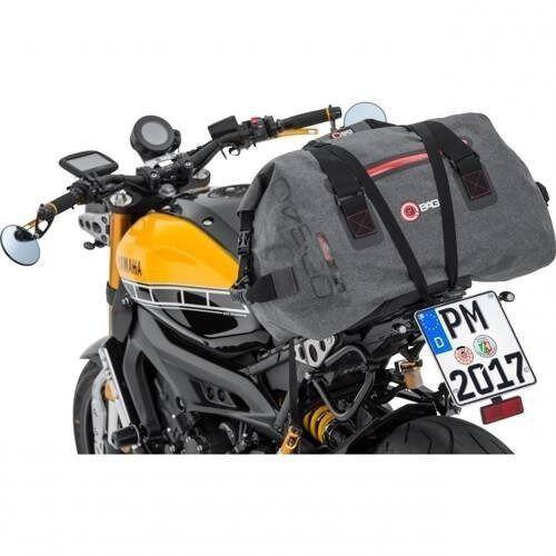 Pozostałe akcesoria do motocykli, Q-bag torba motocyklowa rolka szara 60 l