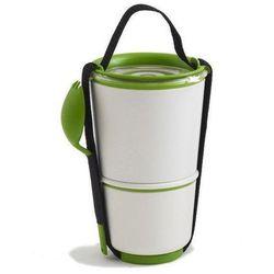 Pojemnik na lunch Lunch Pot biało-zielony