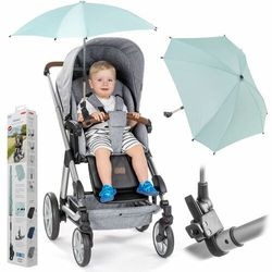 Parasolka przeciwsłoneczna REER wózka UV50+ mięta