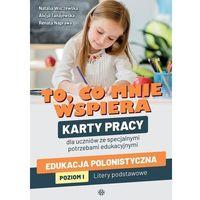 Książki dla dzieci, To, co mnie wspiera. karty pracy (opr. miękka)