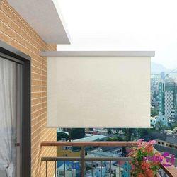vidaXL Wielofunkcyjna markiza boczna, balkonowa, 180 x 200 cm, kremowa Darmowa wysyłka i zwroty