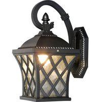Lampy ścienne, Kinkiet Nowodvorski Tay I 5292 zewnętrzny 60W E27 IP23 czarny >>> RABATUJEMY do 20% KAŻDE zamówienie!!!