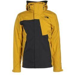 The North Face MOUNTAIN 2IN1 Kurtka zimowa drak grey/yellow