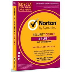 NORTON SECURITY DELUXE 3.0 PL 3D/12M 2+1 PROMO CARD