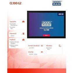 """Dysk 480 GB GoodRam CL100 SSDPR-CL100-480-G2 2.5"""" SATA III"""