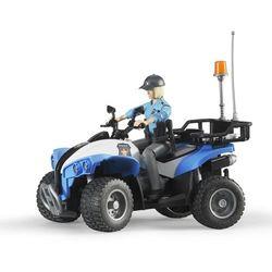 Quad z Policjantką i Akcesoriami BRUDER 63010