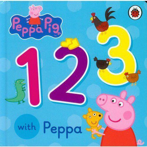 Książki do nauki języka, Peppa Pig: 123 with Peppa - wysyłamy w 24h (opr. miękka)