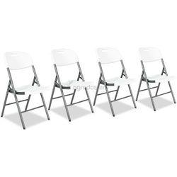 Komplet 4 krzeseł cateringowych składanych Garden Point - Transport GRATIS!
