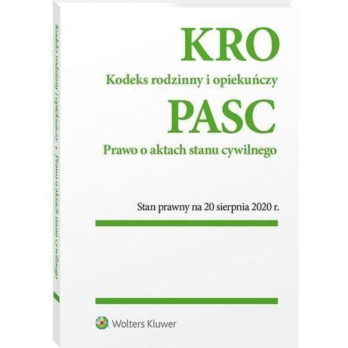 Biblioteka biznesu, Kodeks rodzinny i opiekuńczy prawo o aktach stanu cywilnego (opr. broszurowa)