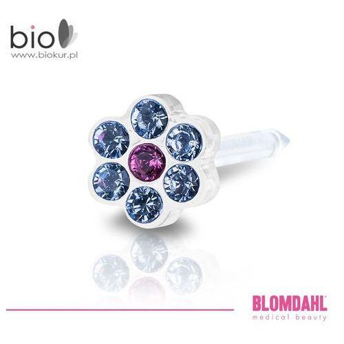 Akcesoria do kolczykowania, Kolczyk do przekłuwania uszu Blomdahl - Daisy Alexandrite / Rose 5 mm