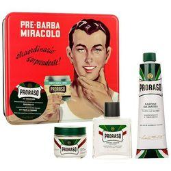Proraso Classic - pre-shaving cream 100 ml + krem do golenia 150 ml+ balsam do golenia 100 ml
