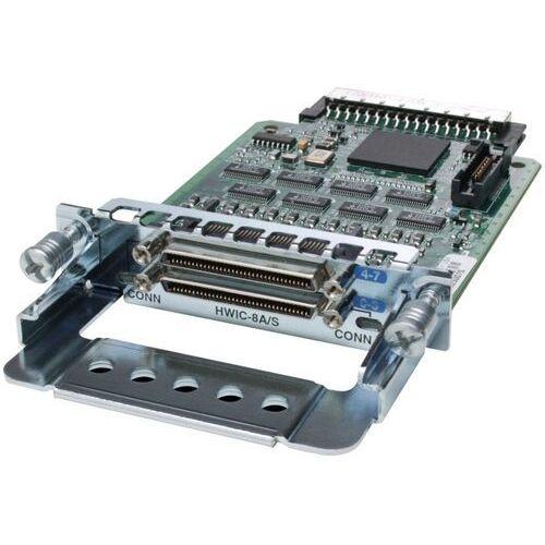 Pozostały sprzęt sieciowy, Cisco HWIC-8A/S-232 8-Port Async/Sync Serial HWIC, EIA-232