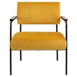 Nowoczesny fotel Cloe VIC żółty to mebel, który zachwyca swoim wykonaniem