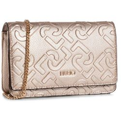 Torebka LIU JO - Xs Crossbody NF0113 E0538 Light Gold 90048