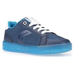 Geox KOMMODOR BOY NEW LIGHT PROJECT Tenisówki i Trampki navy/light blue