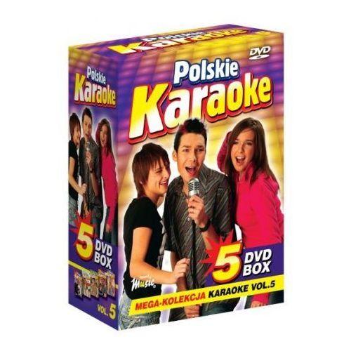 Piosenki weselne i muzyka biesiadna, Polskie Karaoke VOL. 5 - Mega Kolekcja Karaoke (5 płyt DVD)