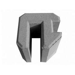 Pustak betonowy - Narożny 20 cm