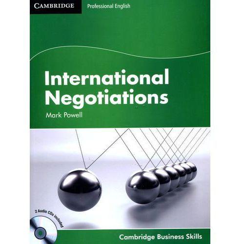 Książki do nauki języka, CBS International Negotiations Student's Book (podręcznik) with Audio CD (lp) (opr. miękka)