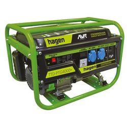 Agregat prądotwórczy 3.2kW 230/12V TTD-PTG4000+ HAGEN