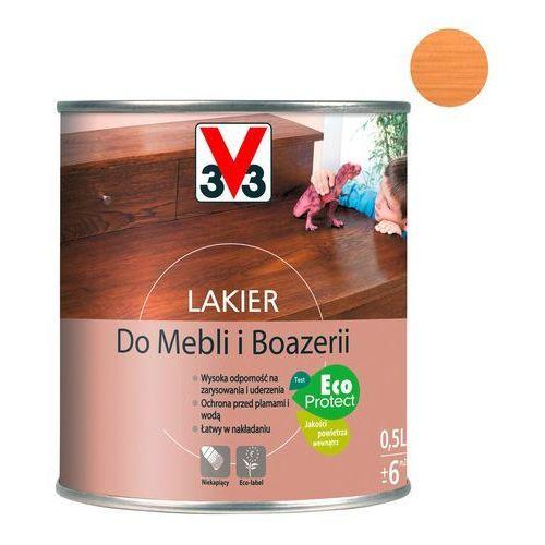 Lakiery, Lakier do mebli V33 dąb jasny satyna 0,5 l