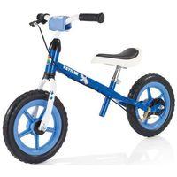 """Rowerki biegowe, Kettler rowerek biegowy Speedy 10"""" Racing błękitny - Czarno-biało-niebieski   Czerwony"""