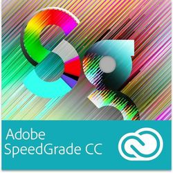 Adobe SpeedGrade CC EDU Multi European Languages Win/Mac - Subskrypcja (12 m-ce)
