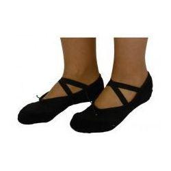Baletki do tańca tradycyjne czarne