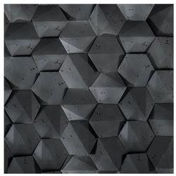Kamień dekoracyjny PLAYA/HEXAGON 3D Czarny 19,5 x 17 cm STEINBLAU