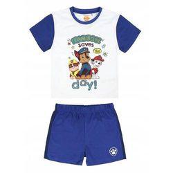 Disney piżama chłopięca Paw Patrol 98 biały/niebieski