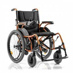 Wózek inwalidzki elektryczny rozm. 46 cm duże koła tylne